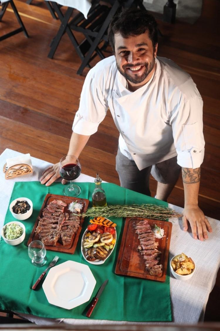 No buffet, quem estiver no local desfrutará de várias delícias - Foto: Divulgação