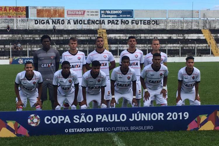 Vitória assegurou o primeiro triunfo na Copa São Paulo de Futebol Júnior - Foto: Divulgação