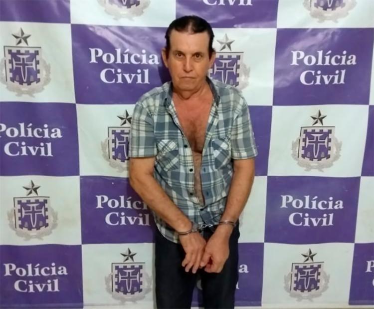Sinvaldo já possui passagens por tráfico de drogas e porte ilegal de armas - Foto: Polícia Civil | Divulgação