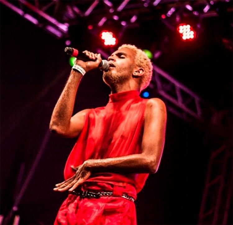 Primeiro rapper assumidamente gay, o baiano Hiram foi um dos destaques do evento - Foto: Reprodução | Instagram