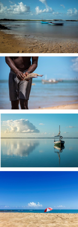 A mostra propõe reacender a ligação das pessoas com o mar