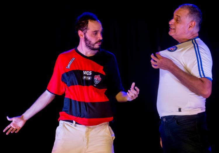 O ator João Guisande contracena com o próprio pai, seu Antônio Roque - Foto: Divulgação