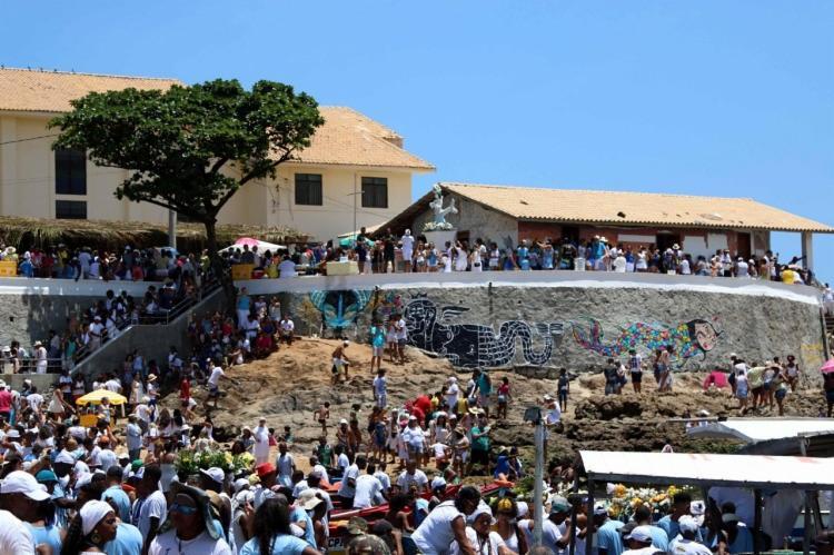 Os festejos serão iniciados a partir da sexta-feira, 1, com a abertura do Caramanchão, local onde são colocados os presentes para Iemanjá. - Foto: Divulgação