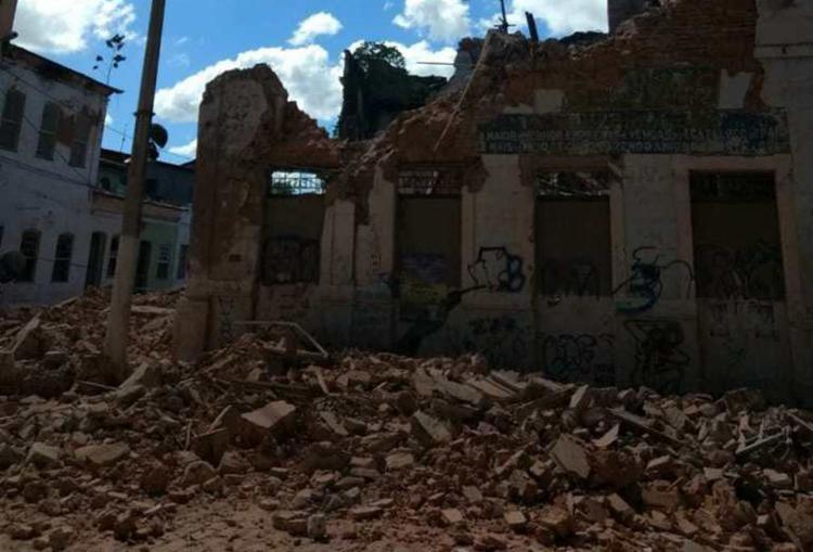 O Iphan chegou a solicitar á Prefeitura local que a área fosse isolada - Foto: Reprodução | site Recôncavo Online