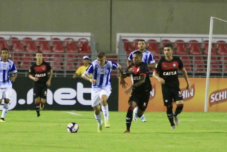 Com o resultado, rubro-negro baiano soma primeiro ponto na competição - Foto: Ailton Cruz | Gazeta de Alagoas
