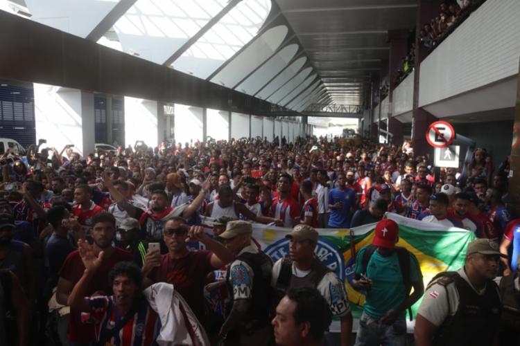 O jogador de 31 anos chega para o Esquadrão com contrato definitivo até o fim de 2020 - Foto: Felipe Oliveira | EC Bahia