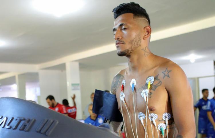 Rogério fechou contrato com o Esporte Clube Bahia até maio de 2021 - Foto: Felipe Oliveira / EC Bahia