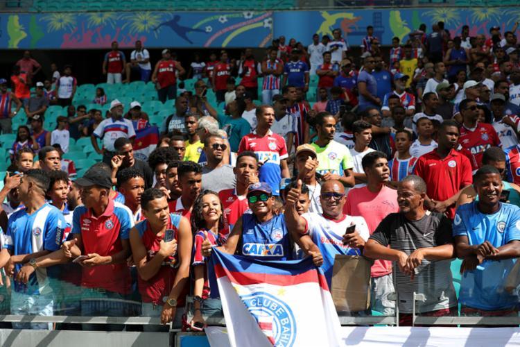 No dia da partida, as bilheterias da Fonte irão vender os ingressos. - Foto: Felipe Oliveira | EC Bahia