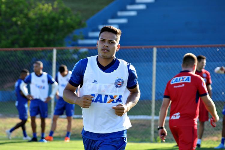 Em 2018, o lateral defendeu a camisa do Paysandu - Foto: Felipe Oliveira | EC Bahia