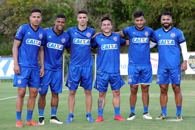 O Bahia estreará na temporada na próxima quarta-feira, 16, contra o CRB, na Fonte Nova - Foto: Felipe Oliveira | EC Bahia