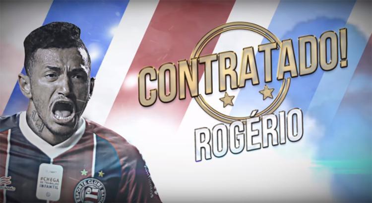Bahia anuncia contratação de Rogério 87fdbce04471c