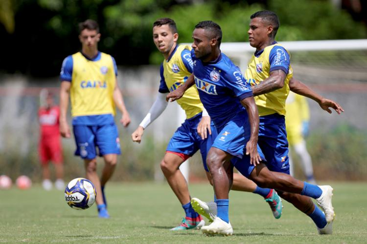 O tricolor baiano estreia na temporada 2019 na próxima quarta-feira, 16 - Foto: Felipe Oliveira | EC Bahia