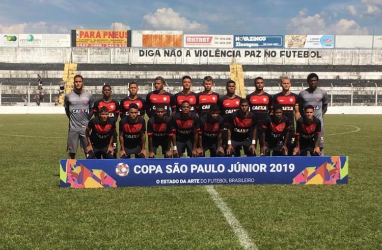 O Vitória ficou com a segunda colocação no Grupo 14 com seis pontos - Foto: Divulgação