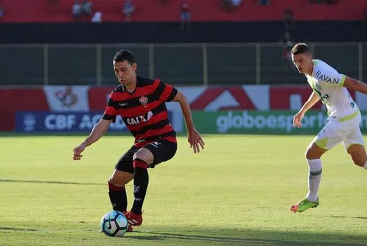 Nos dois anos atuando com a camisa rubro-negra, Soutto disputou 35 partidas - Foto: Tiago Caldas / Arena Rubro-Negra