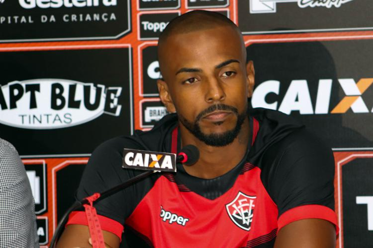 Em 2018, O jogador disputou 9 partidas pelo grupo baiano, duas delas pela equipe Sub-23 - Foto: Maurícia da Matta | EC Vitória