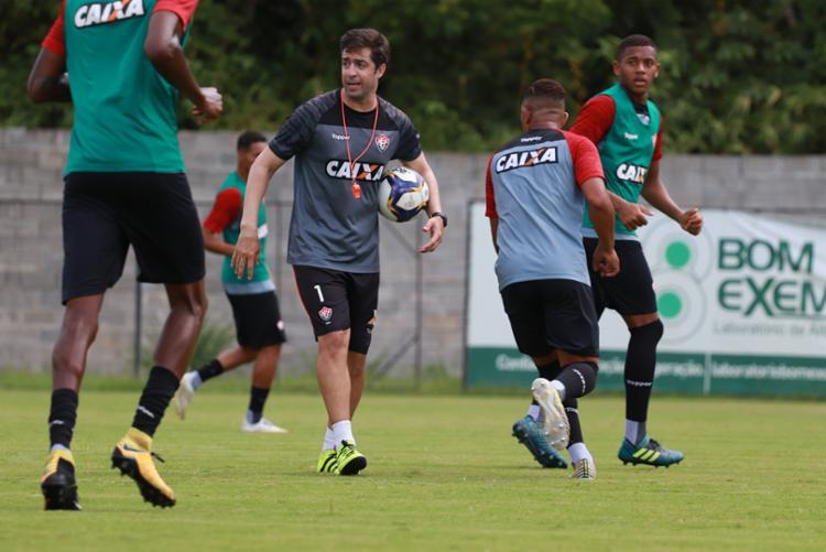 O grupo que irá representar o Leão no primeiro jogo do ano está treinando junto desde o dia 17 de dezembro - Foto: Maurícia da Matta | EC Vitória
