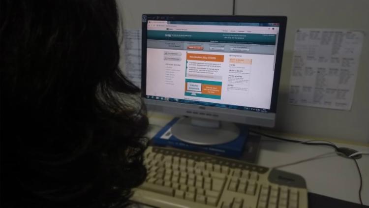 Devido ao volume de acessos, o sistema registrou lentidão, de acordo com a pasta - Foto: Keyla Pereira | Ag. A TARDE