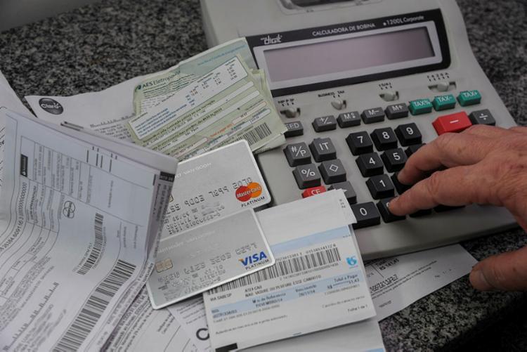 Famílias com dívidas eram 59,8% em dezembro de 2018 - Foto: Cecília Bastos | USP Imagens