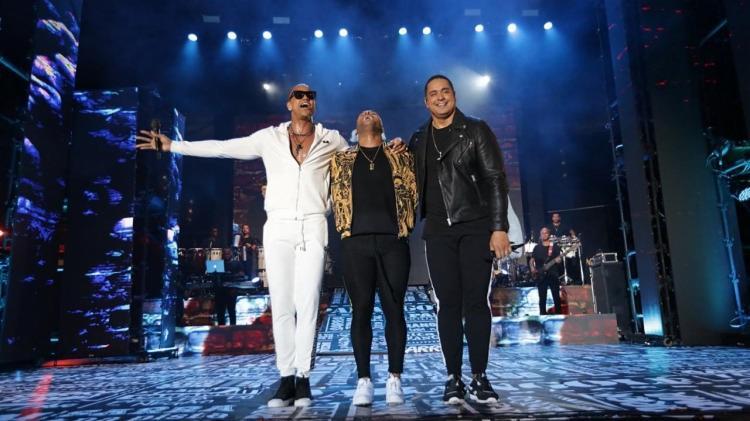 Léo Santana, Tony Salles e Xanddy se apresentam no dia 1 de maio, na Arena Fonte Nova. - Foto: Divulgação