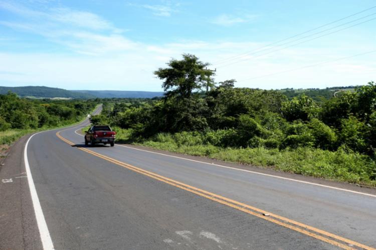 Foram restaurados os 43 quilômetros da BA-172 que ligam os municípios de Jaborandi e São Felix do Coribe - Foto: Paula Fróes/GOVBA