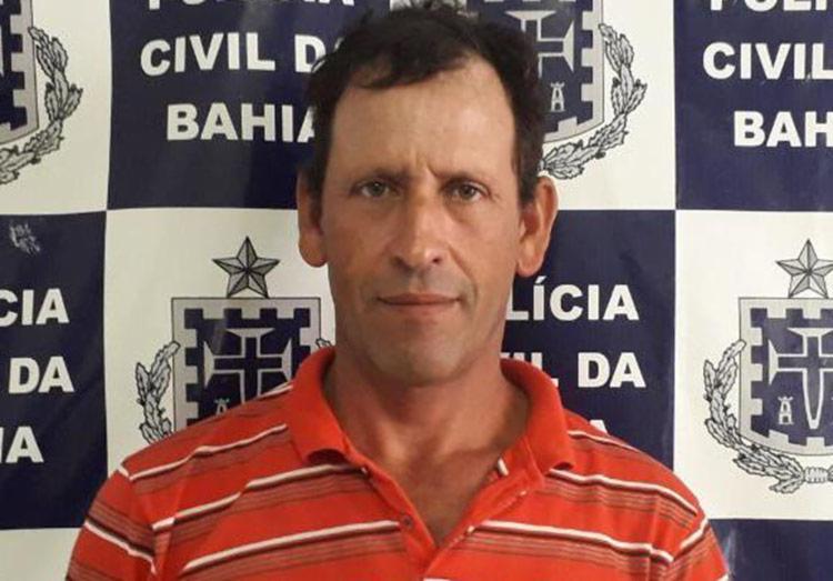 O suspeito está sob custodia na Delegacia Territorial de Teixeira de Freitas até que seja transferido para o sistema prisional - Foto: Divulgação   Polícia Civil