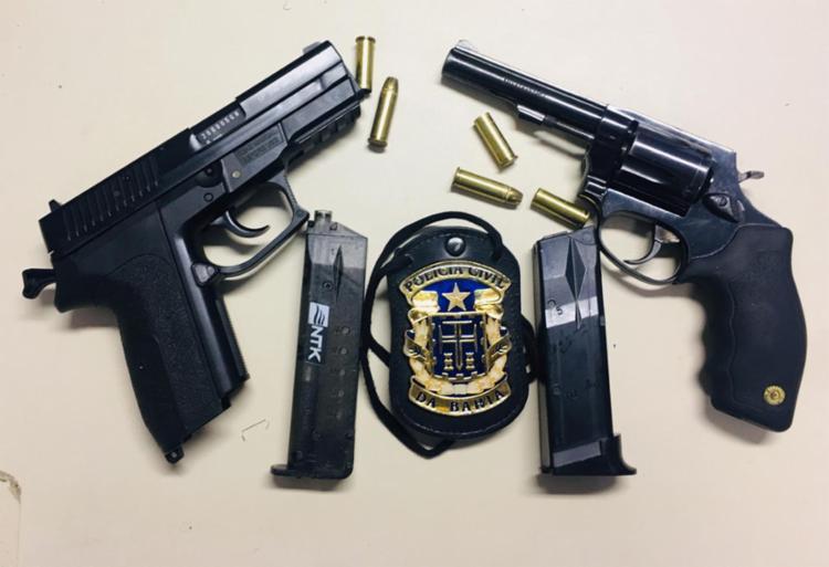 Armas, munições e carregadores foram encontrados com Pepe