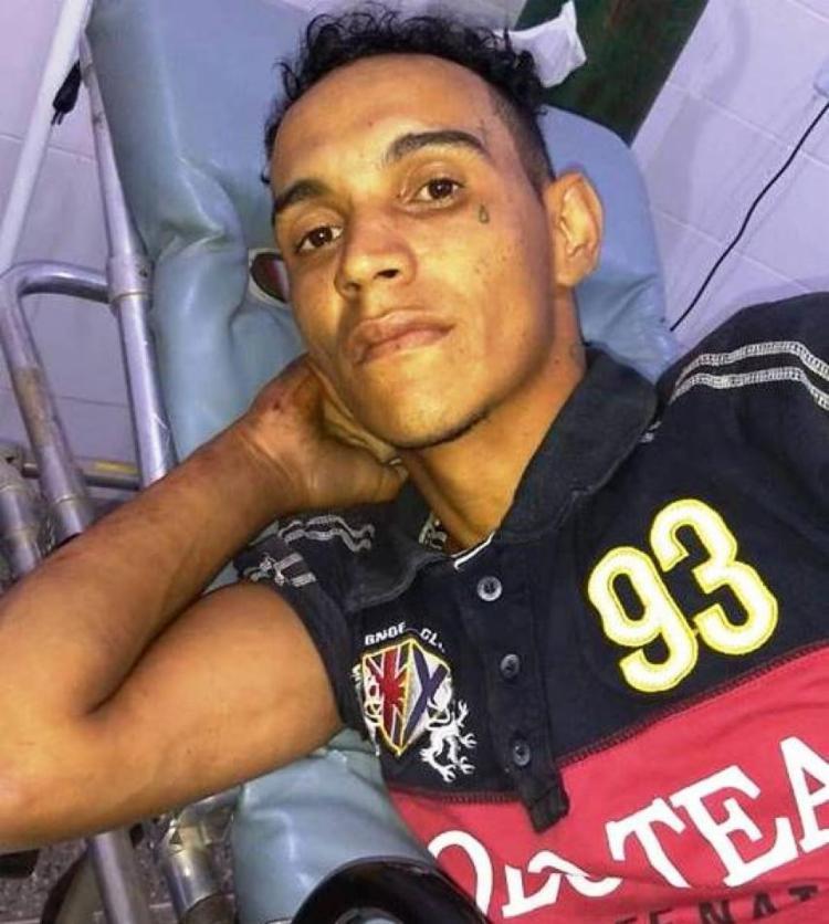 Edistio Alves de Sena foi levado para uma unidade hospitalar local - Foto: Divulgação