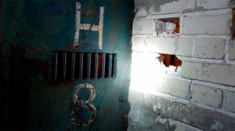 . Os presos que tentavam fugir são homens que respondem pelos crimes de roubo, trafico e homicídio - Foto: Divulgação | SINSPEB