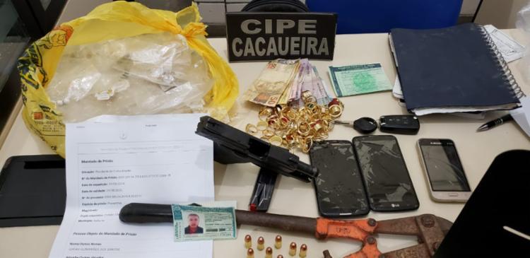 Lucas já tinha mandado de prisão em aberto por tráfico de drogas. - Foto: Divulgação | SSP-BA