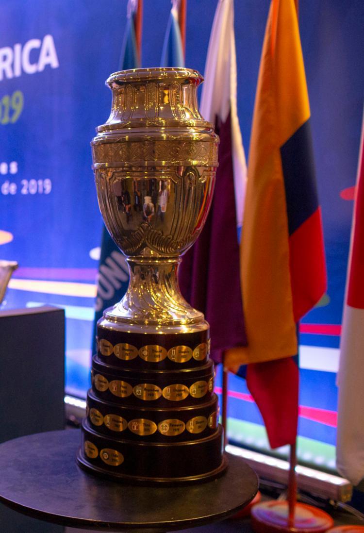 Cabeça de chave no Grupo A, o Brasil já sabe que não terá pela frente Argentina e Uruguai na primeira fase - Foto: Mauro Pimentel | AFP