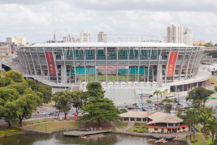 Quatro dos seis estádios da competição - Maracanã, Arena Corinthians, Mineirão e Fonte Nova - foram erguidos ou reformados para o Mundial - Foto: David Campbell | Divulgação
