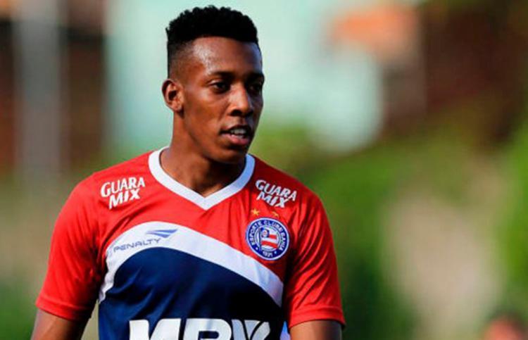 Moisés estava fora dos planos de Fábio Carille e viajou a Salvador para assinar contrato por três temporadas - Foto: Divulgação | EC Bahia