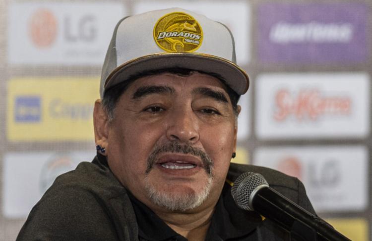 Aos 58 anos, Maradona foi operado na noite de sábado - Foto: Pedro Pardo | AFP