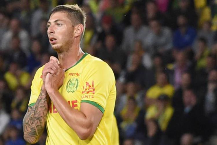 O atacante de 28 anos acabara de se transferir do Nantes para o Cardiff, do País de Gales - Foto: Sebastien Salom Gomis / AFP