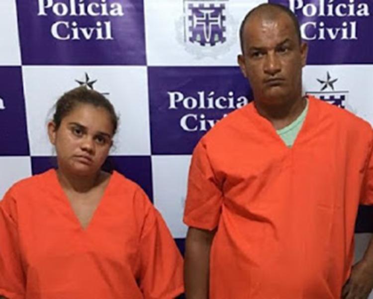Hercules e Ana Paula tinham passagem pela polícia por suspeita de tráfico e porte ilegal de armas - Foto: homicidio, casal, casa, invasao, belmonte, bahia