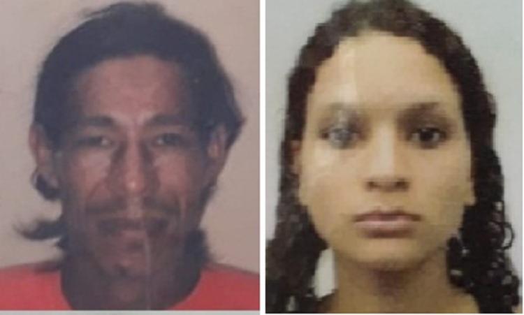 Ademilson Ferreira dos Santos, 41 e Karolaine de Oliveira Rocha, 22, não resistiram aos ferimentos - Foto: Reprodução | site Liberdade News
