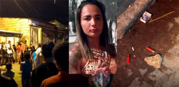 O crânio da vítima, que possuía diversas passagens pela policia, acabou se abrindo ao meio - Foto: Reprodução | blog do Marcelo