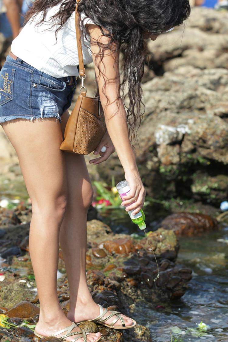 O uso de calçados e roupas adequados para a ocasião são indispensáveis para evitar incidentes - Foto: Joá Souza   Ag. A TARDE