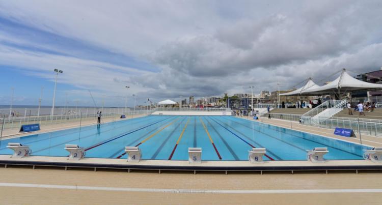 Aulas para iniciantes serão realizadas na piscina semiolímpica - Foto: Max Haack | Secom