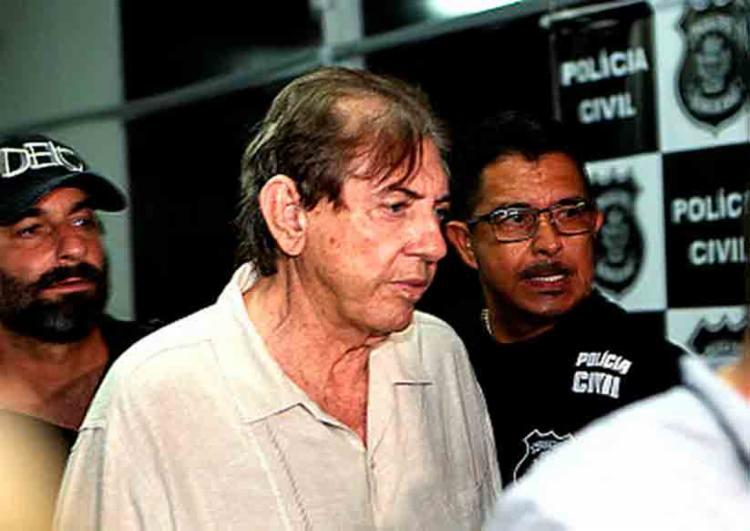 Médium João de Deus voltou para o Complexo Prisional de Aparecida de Goiânia - Foto: Foto : Ernesto Rodrigues / Estadão Conteúdo