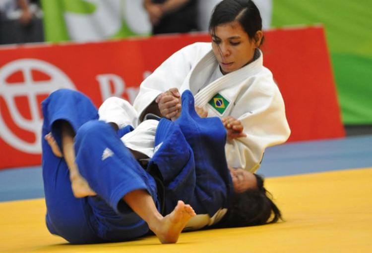 A atleta de 24 anos, que disputa a categoria até 52 kg, foi testada fora de competição - Foto: Divulgação   CBJ
