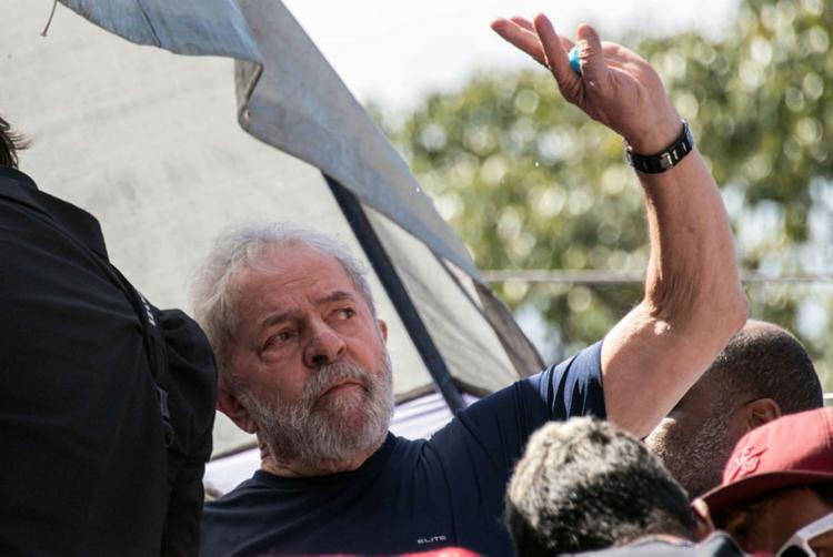 Ex- presidente voltou a se queixar de sua prisão como uma condenação sem provas e sem direito a um julgamento justo - Foto: Nelson Almeida | Divulgação | AFP