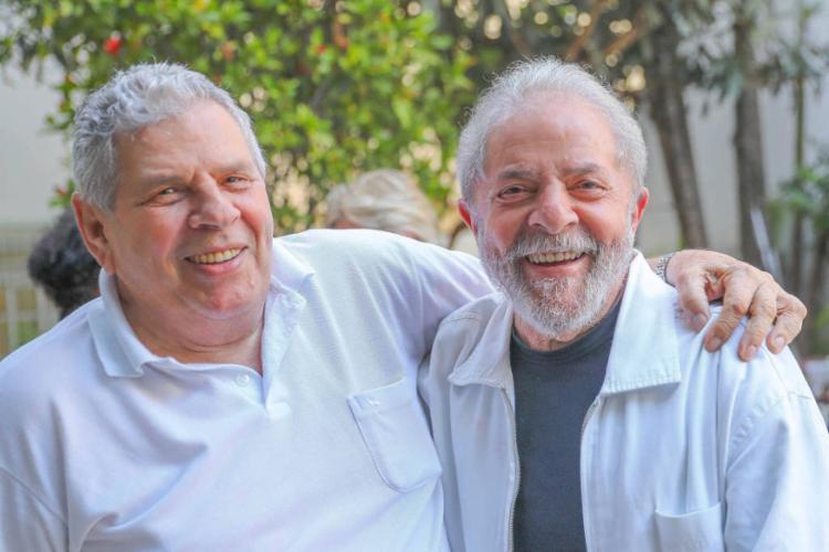 Genival inácio da Silva, o Vavá, irmão do ex-presidente Lula, faleceu nesta terça-feira, 29 - Foto: Foto: Ricardo Stuckert