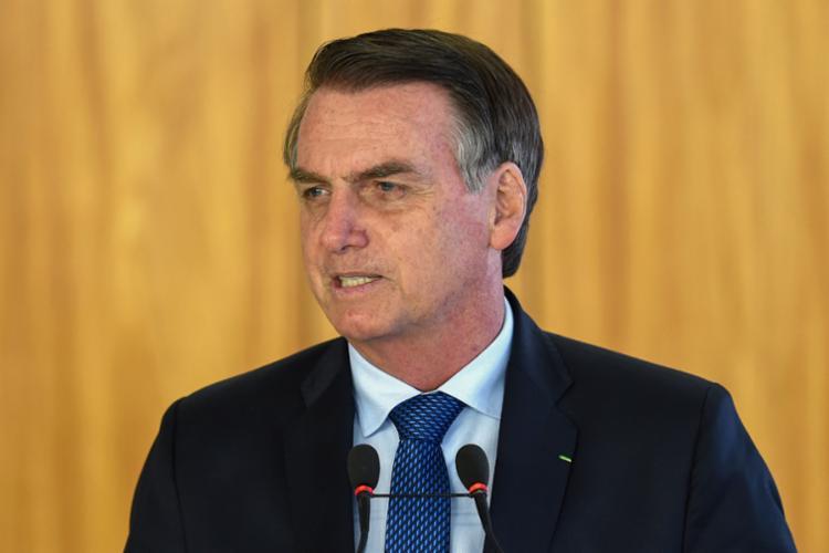 O presidente prometeu que o governo federal vai empenhar esforços para diminuir o impacto ambiental - Foto: Evaristo Sa | AFP