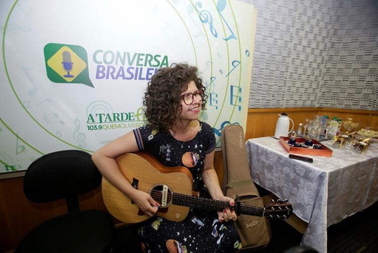 A cantora se apresenta hoje no Armazém Hall - Foto: Tiago Caldas / Ag. A TARDE