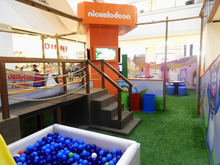 As atividades da Arena são um incentivo para as crianças brincarem em grupo e desenvolverem diversas atividades - Foto: Divulgação