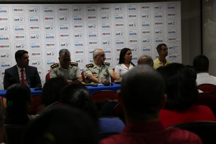O sorteio ocorreu no auditório do Instituto Anísio Teixeira (IAT), no bairro de São Marcos - Foto: Divulgação