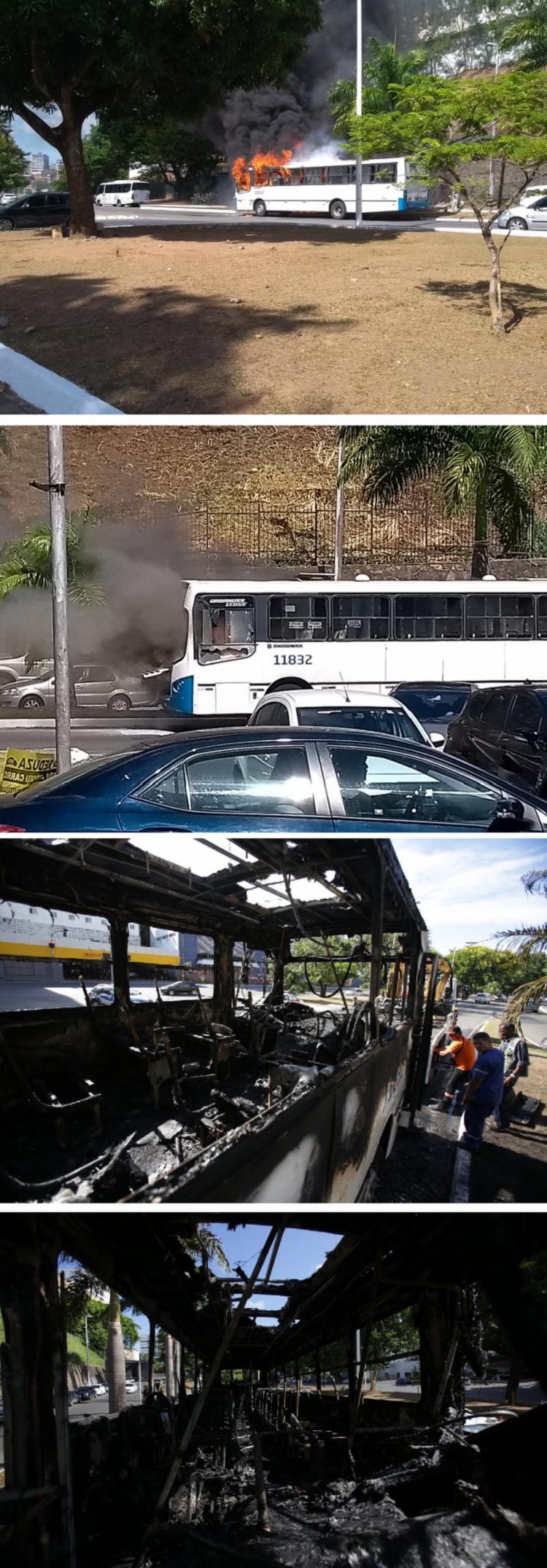 O acidente ocorreu por voltas das 14h40, sentido 7 portas