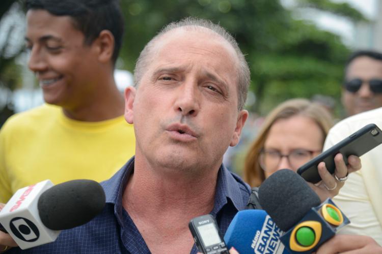 Onyx afirmou que houve aparelhamento do Estado nos quase 14 anos em que o PT comandou o País - Foto: Tomaz Silva | Agência Brasil