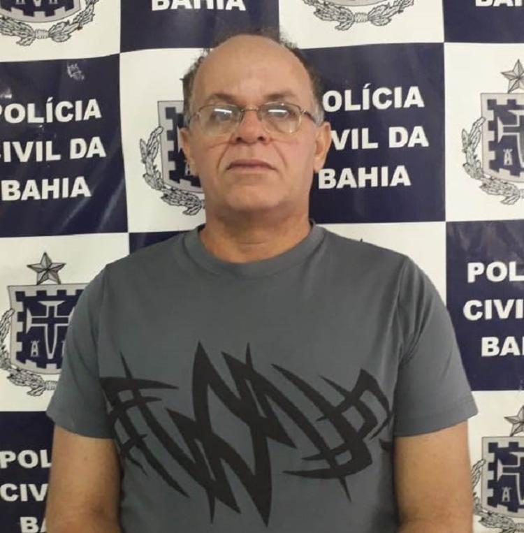 George Hilton Brito Pereira estuprou três vítimas no seu consultório onde atuava como psicólogo. Ele também era pastor em uma igreja local da cidade. - Foto: Divulgação | SSP-BA